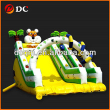 Attractive Super Animal Paradise Giant Inflatable Slide
