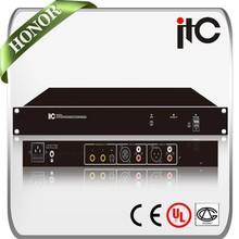 ITC TS-234 Using Latest Adaptive Algorithm Digital Speaker Processor for Meeting Room Audio System