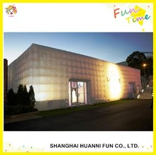 2015 custom inflatable cube tents for wedding party event