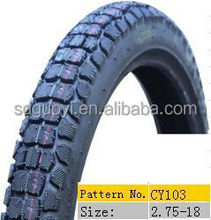 high quality motorcycle tire 2.75-18