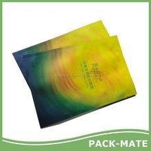 Economic hot sale matte foil lined facial mask package bag