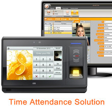 Biometric time attendance for time recorder and fingerprint access control with GPRS, WiFi, offer software and SDK