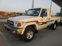 New Toyota Land cruiser Pick up 2014 model white color Diesel maunal Gear Box LHD