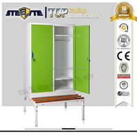 Cheap Gym Metal Locker / Metal Bench Lockers