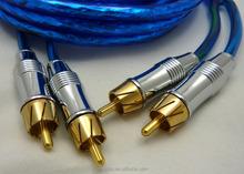 6ft Digital Coaxial Audio/Video RCA Cable Cord M/M Coax Gold Sub