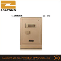 Excellent combined low price pyramid safe box dimension fire resistance mechanical gun safe case