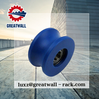 High quality U plastic groove steel wheel groove plastic timing belt/ rope pulley for sliding door roller wheel