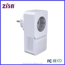 ZISA PA1000 PLC homeplug wireless communication powerline ethernet adapter
