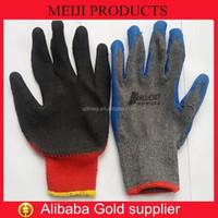 latex crinkle coated gloves