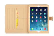 For ipad mini 1/2/3 leather case,book style case for ipad mini 1/2/3