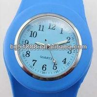 High Quality Silicon Slap Bracelet Wrist Watch