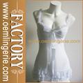 Venta caliente sexy sexy blanco transparente de la ropa interior de la muñeca del cordón