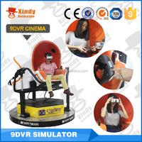 Virtual reality 5D movie ,9D cinema simulator cinema equipment factory