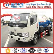 New small mini 3000l to 4000l sewage disposal trucks,sewage pump truck for sale