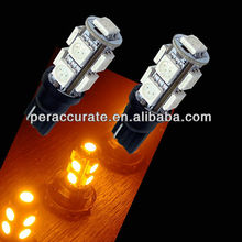 9smd T10 LED car reading light car led bulb scooter accessories