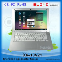 big-screen laptop computer 13.3 inch VIA WM8880 Android4.2 best for network