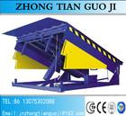 Capacidade de carga 12T hidráulico rampas / nivelador de cais / rampa de carregamento de empilhadeira