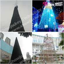 Giant LED lighting Christmas tree for outdoor decoration