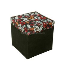 Footstool Storage/storage ottoman/storage box
