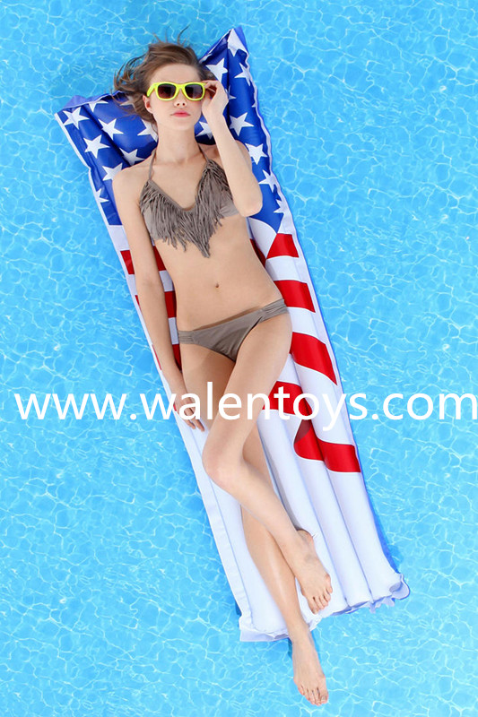 Inflatable Swimming Pool Chair Float Air Mattress Lake