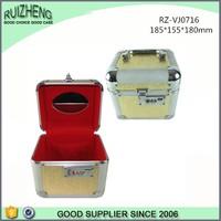 Professional Golden Aluminum Jewelry Display Box