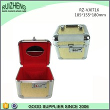 Professional Golden Aluminum Jewelry Display Box
