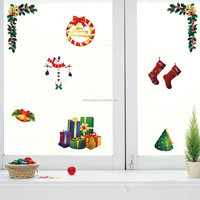 All kinds of christmas sticker window decals for holidays