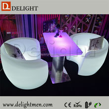 Good price outdoor ip65 glowing 16 color wireless control latest sofa design living room sofa