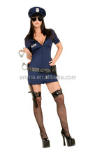 woman sex hot police sex dress sexy cop costume Adult Fancy Dress Costume BWG-2820