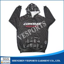 Full digital printing custom printed mens hoodies