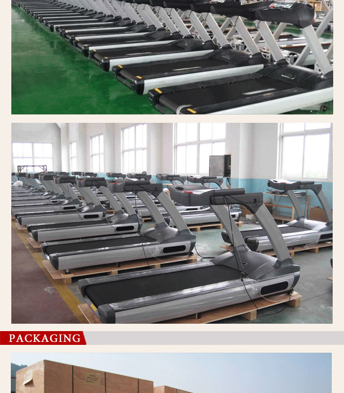 Treadmill Commercial body building automatic
