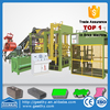 qt10-15 concrete brick form/concrete vibro block machine/fly ash brick making machine cost