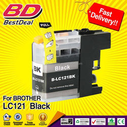 Discount ink cartridge for brother compatible ink cartridge LC 121