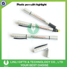 Plastic Gel /Ball Pen Promotion Highlighter Pen