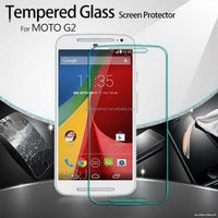 Low price classical tempered screen protector for moto x