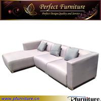 living room modern fabric corner sofa PFS1575