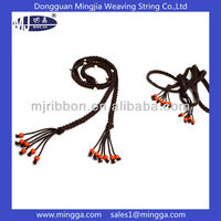 fashionable customized cotton decorative beaded belts