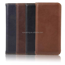 PU flip leather case for iPod touch 6, Magnet leather case for iPod touch 6
