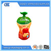 Aluminum foil stand up spout pouch,Special-shaped suction nozzle bag for drink water/fruit juice