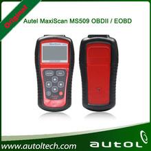 MS509 MaxiScan código OBD2 escáner en forma para los Estados Unidos y de Asia y de Europa Vehículos MS 509