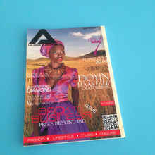 Digital printing/offset printing service for cheap full color magazine printing