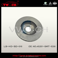 Replacement drilled brake discs 45251-SMT-E00