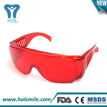 Wholesale safety laser goggle for teeth whitening use