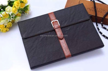 Unique design multi stand tablet cover for ipad air 2 leather case