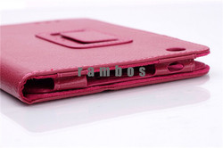 Tablet PU Leather Flip Protective Stand Cover Case for Lenovo A3000 A3300 A3500 A5500 S6000