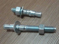 China manufacturers suppliers exporter Wedge Anchor/screw bolt hex bolt fasteners good quality zinc