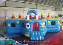cheap inflatables combo with slide /juegos inflables