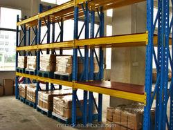 Suitable american type teardrop pallet rack as manufacturer