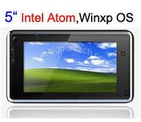 "5"" 3G PDA with 3G and windows xp or windows 7 OS"