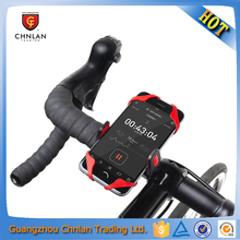 New Arrive Silicon + ABS 360 Degree Rotation Portable Bike Holder For Cell Phone